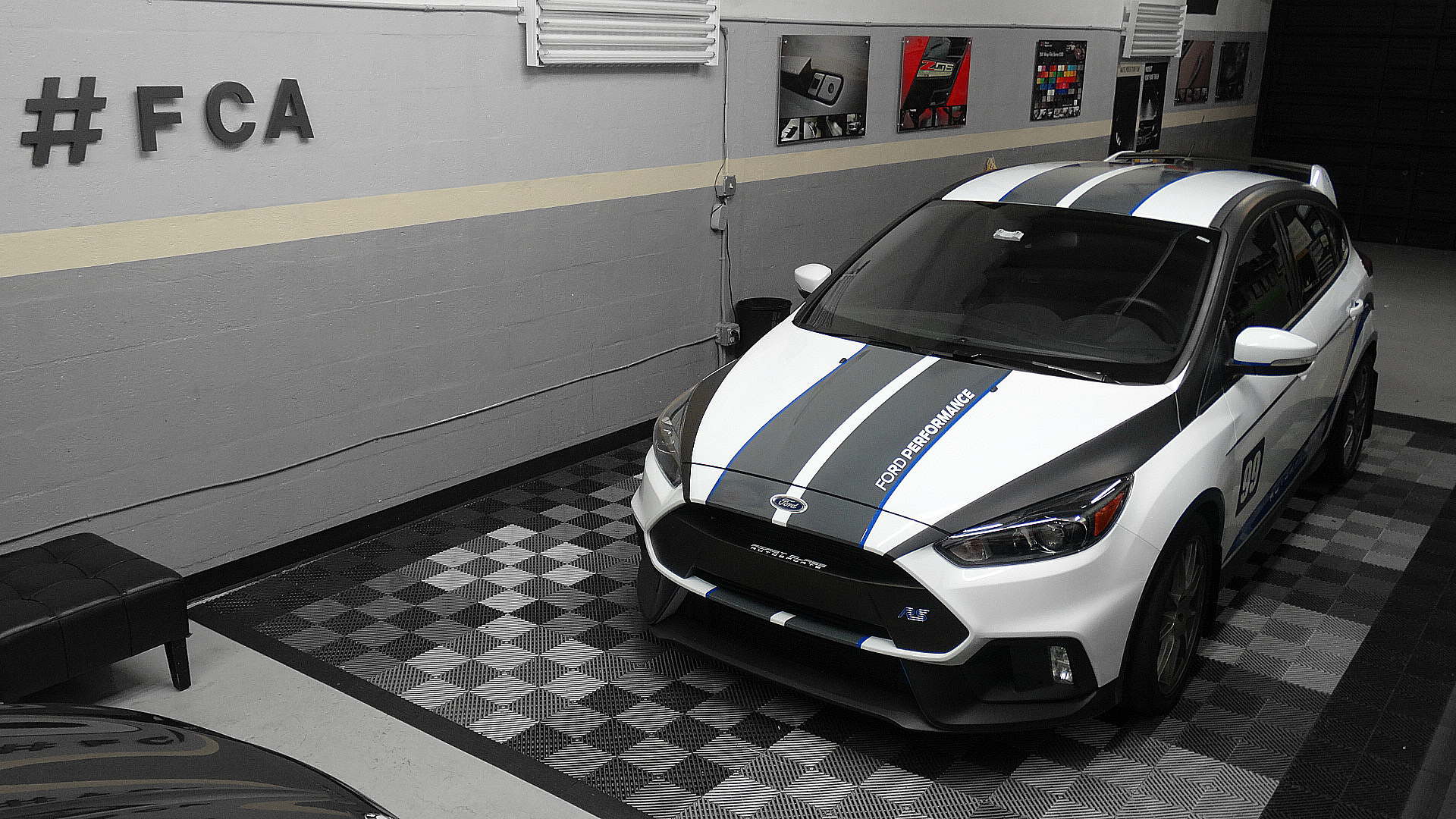 Focus RS armored Clear bra paint protection custom stripes ...