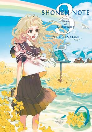 Shonen note, vol. 3 de Yuhki Kamatani