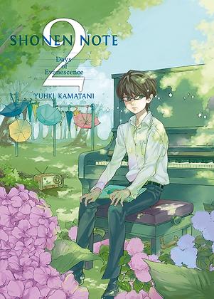 Shonen note, vol. 2 de Yuhki Kamatani