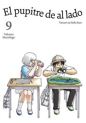 El pupitre de al lado, vol. 9 de Takuma Morishige