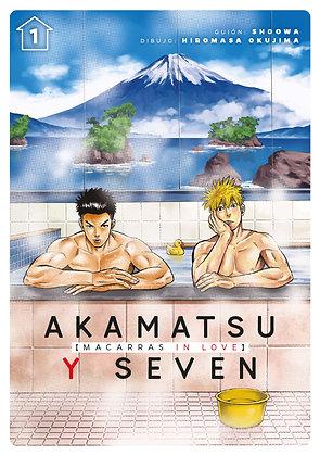 [PREORDER] Akamatsu y Seven, macarras in love, vol. 1