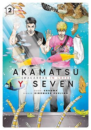 Akamatsu y Seven, macarras in love, vol. 2