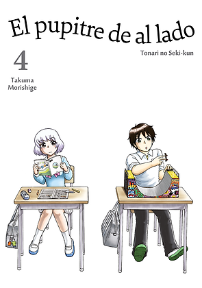 El pupitre de al lado, vol. 4 de Takuma Morishige