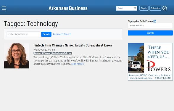 Arkansas Business Features LeapXL
