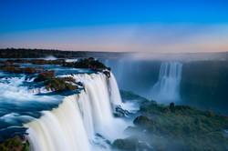 Iguazu Falls (on the Argentinian & Brazilian border)