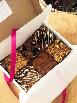 Brownie mix box