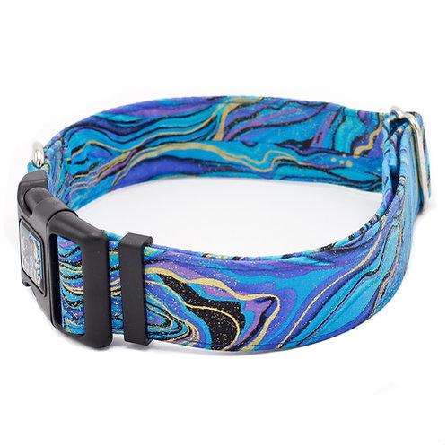 Blue Marble Cat Collar