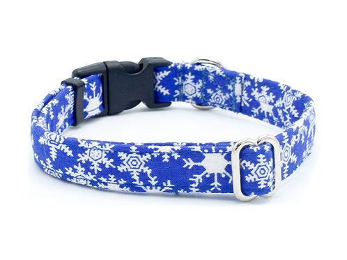 Winter Snowflake Cat Collar