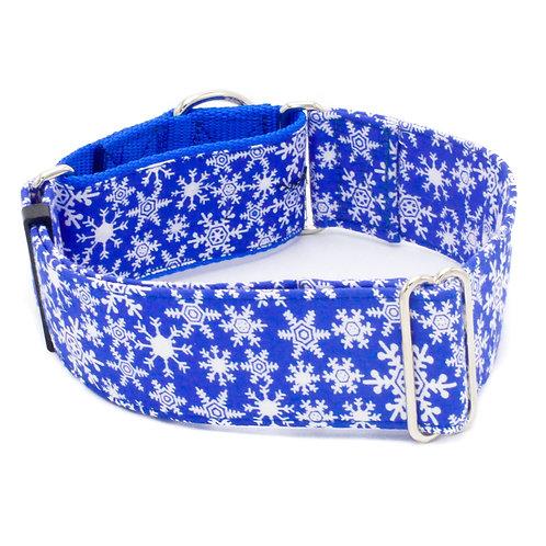 Winter Snowflake Dog Collar