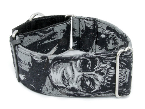 Zombie Walkers Collar - Black and Grey