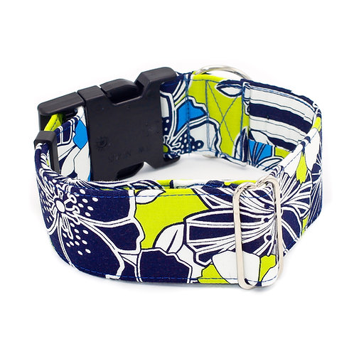 Abstract Flowers Collar