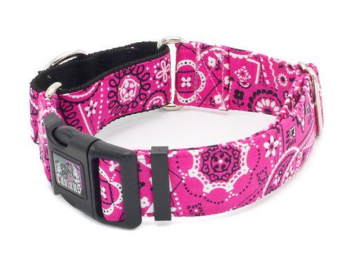 Pink Bandana Collar