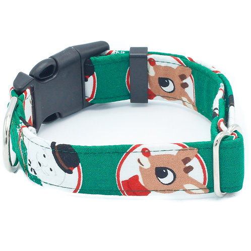 Rudolph and Sam Holiday Collar