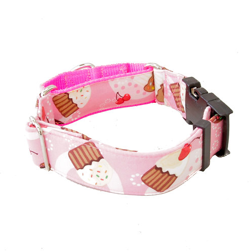 Cupcakes and Cherries Collar