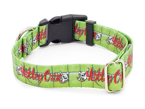 "Mötley Crüe ""Dr Feelgood"" 5/8"" Wide Cat Collar"
