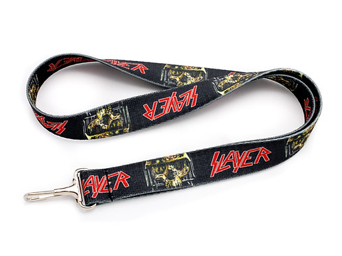 Slayer Skull Lanyard