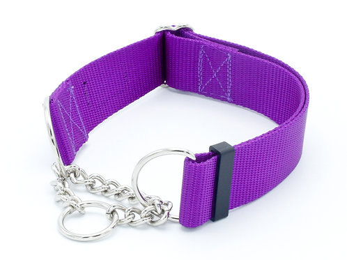 "1.5"" &  2"" Chain Martingale Collar"