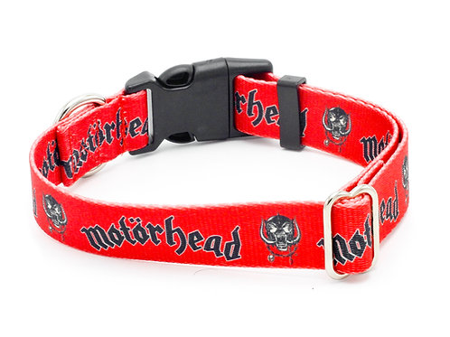 "Motörhead ""Snaggletooth"" Dog Collar"