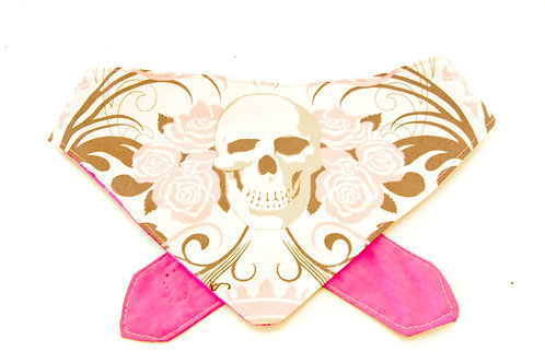 Skull and Roses Double Sided Bandana