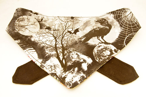 Raven Double Sided Bandana