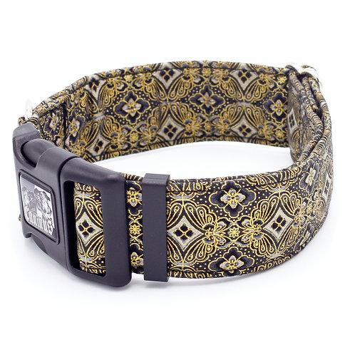 Black and Gold Jewel Collar