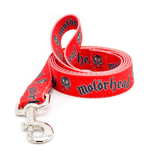 "Motörhead ""Snaggletooth"" 1"" and 5/8"" Leashes"