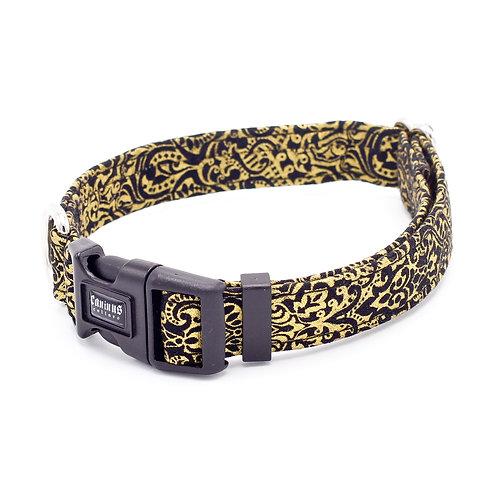 Black and Gold Flourish Collar