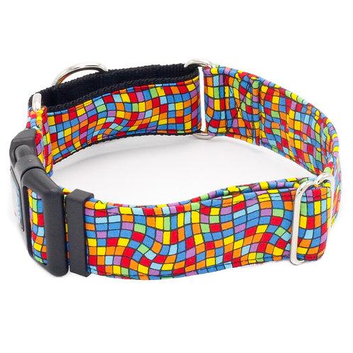 Warped Reality Checkered Collar