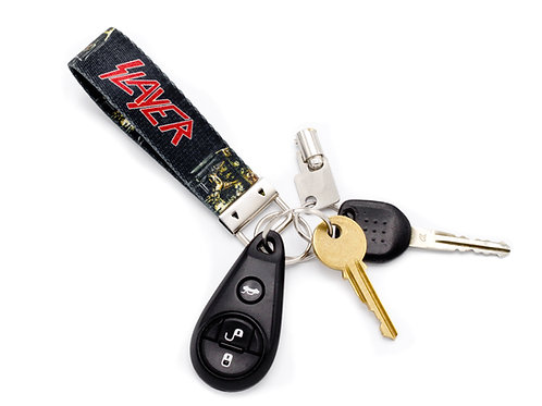 Slayer Skull Key Chain
