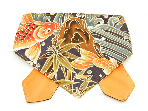 Koi Ocean Blue Double Sided Bandana
