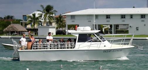 Ocean Quest Dive Boat