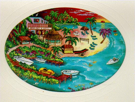 Coconut Cove Art Work