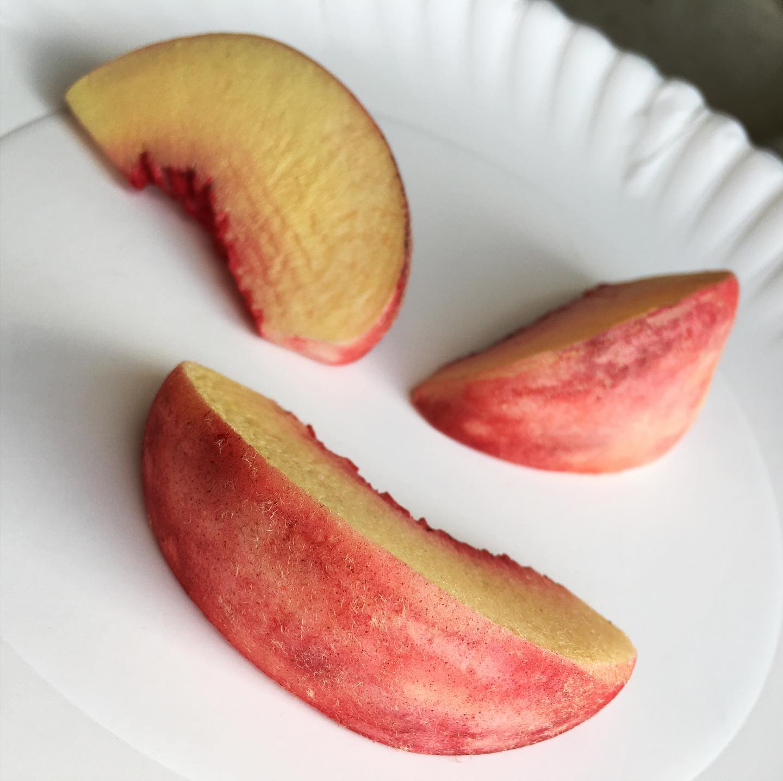 Fake peaches