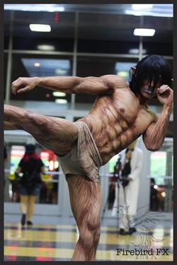 Titan Eren body paint