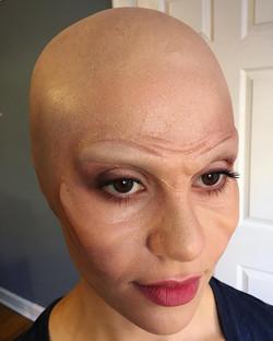 Alien beauty makeup & prosthetics
