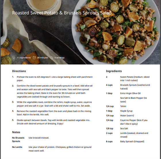 The Nutrition Tip that Fits ANY Diet and Body (+ a delicious roasted salad recipe!)