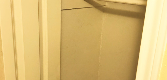Small Closet in Hallway