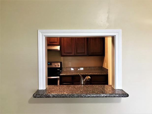 Window to Kitchen