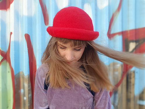 Red Wool Hats