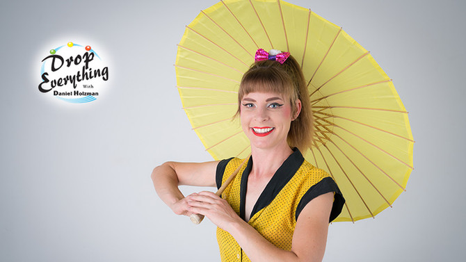 """Bri Crabtree Interview on """"Drop Everything"""" podcast by International Juggler's Associa"""