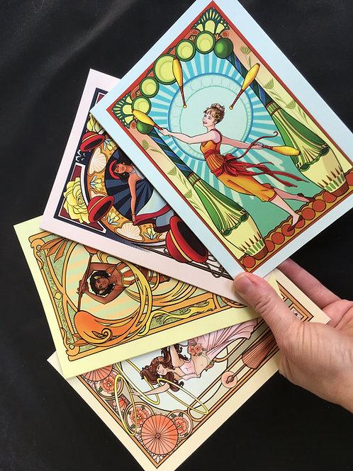 20-Pack Goddess Greeting Cards