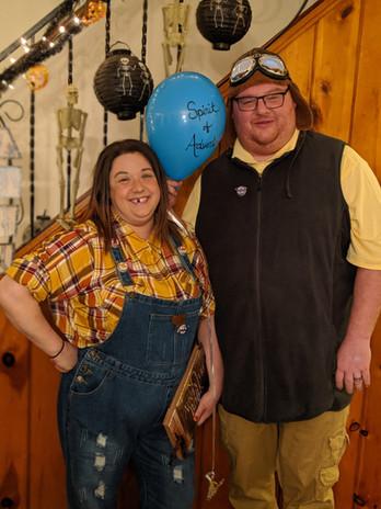 Halloween as Carl & Ellie from Disney's Up