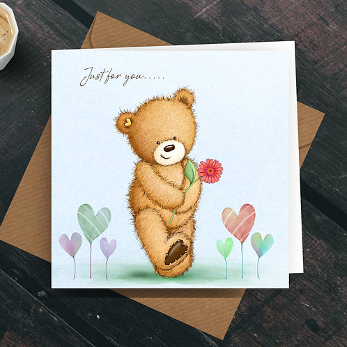 Just For You.... Greetings Card