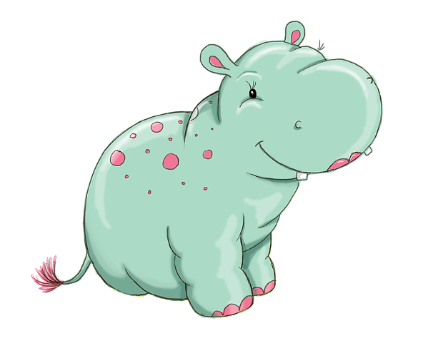 Hippo sitting pink tail.png