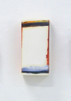 Day and Night 4, Oil on Paper, 40×21.1×8cm, 2019