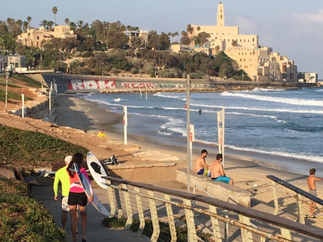 Running in Tel Aviv