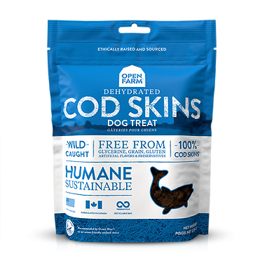 Open Farm Cod Skins Treats