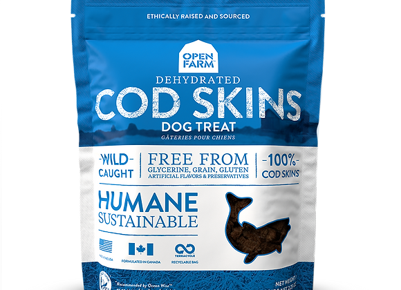 Open Farm Cod Skins Treats