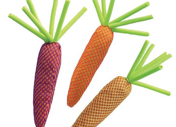 KONG Cat Nibble Carrot w / Catnip Assorted