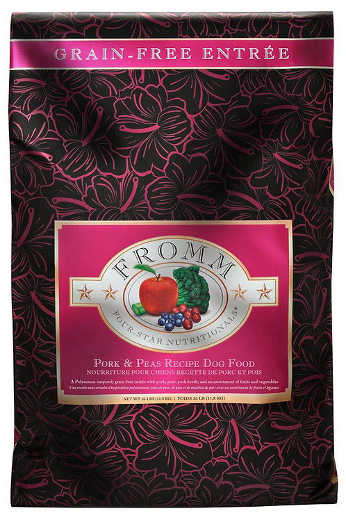 Fromm Four-Star Pork & Peas